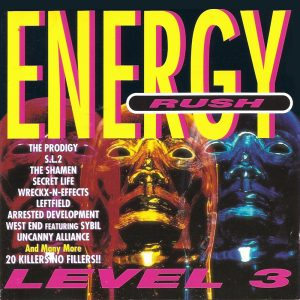 Energy Rush level 2 front cover