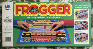 Frogger: The board game (2)