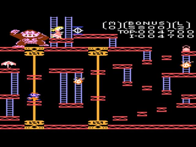 Atari 7800 Donkey Kong