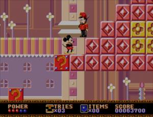 Mega Drive Castle of Illusion